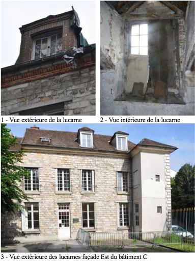 Lucarnes - bibliothèque