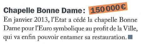 Chapelle Bonne Dame