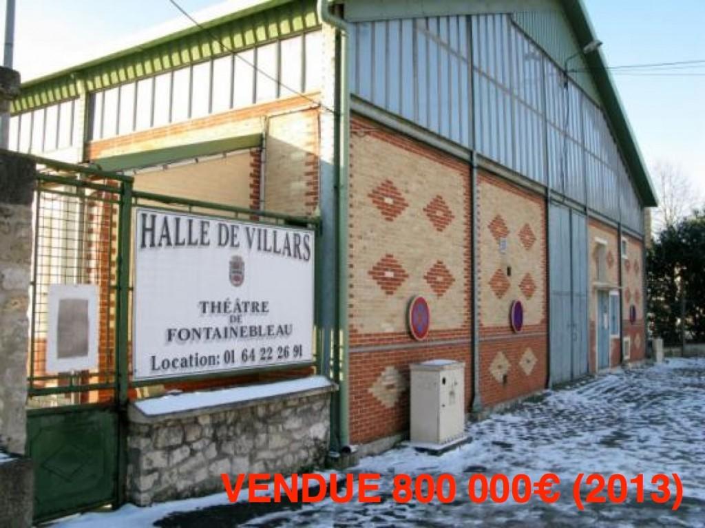 Halle de Villars-800 000€