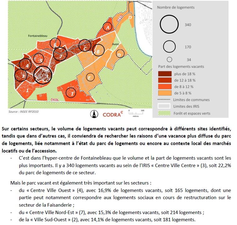 zone logements vacants