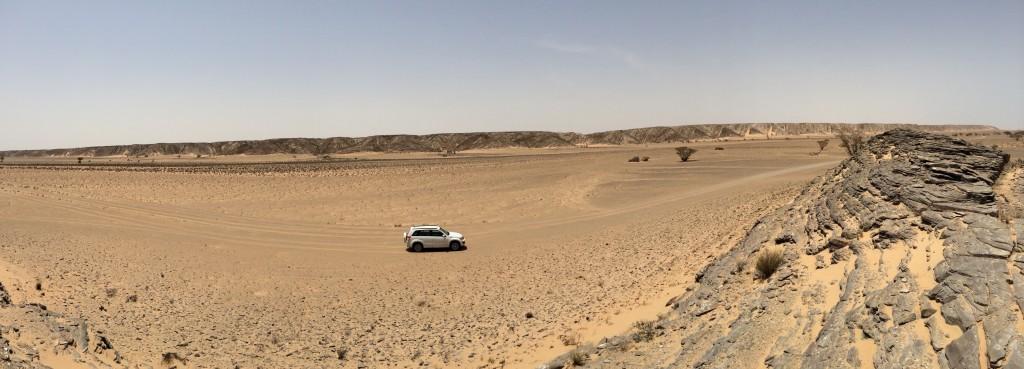 wadi à sec